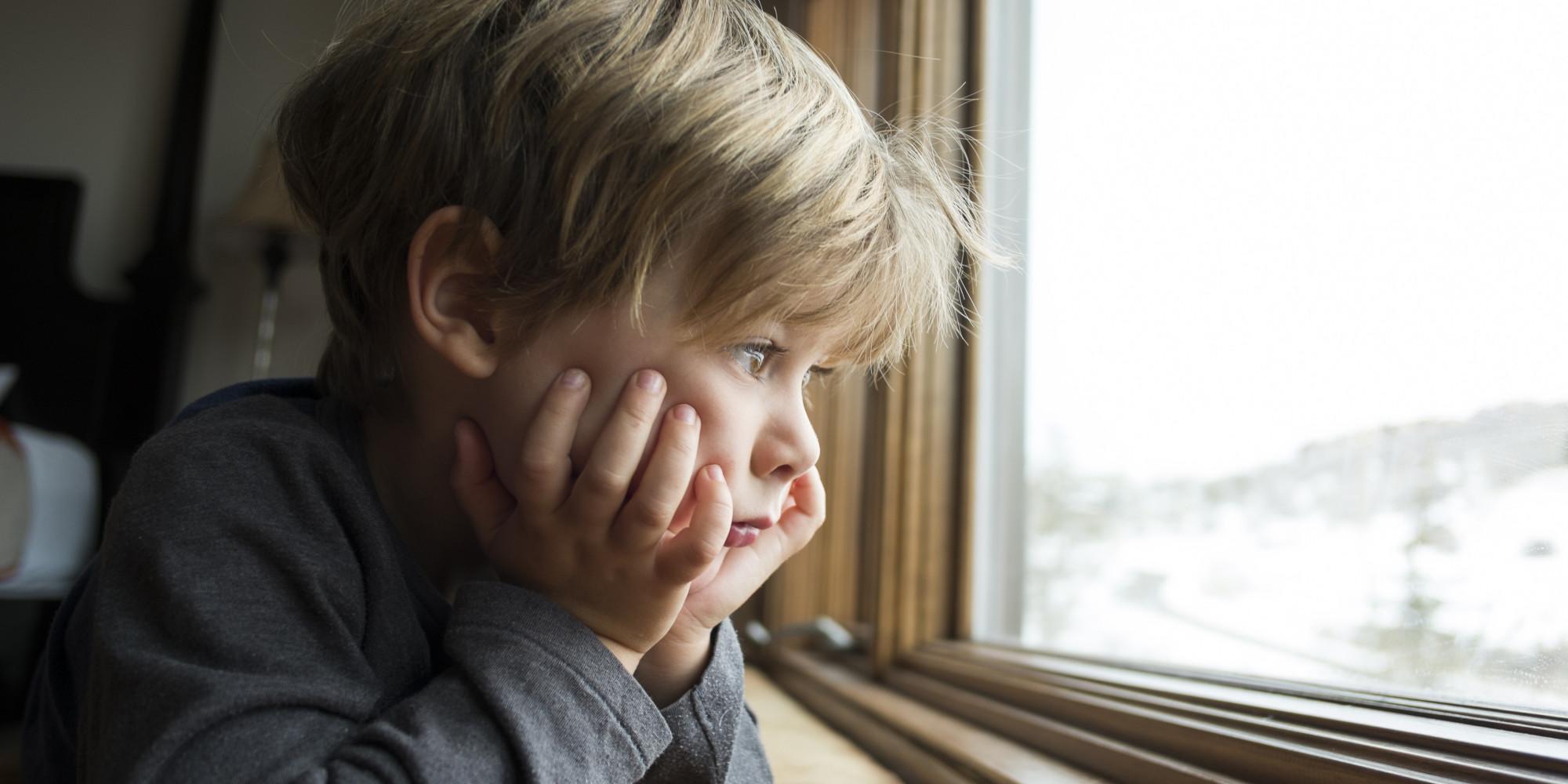 Boy by window