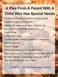 A plea from a parent