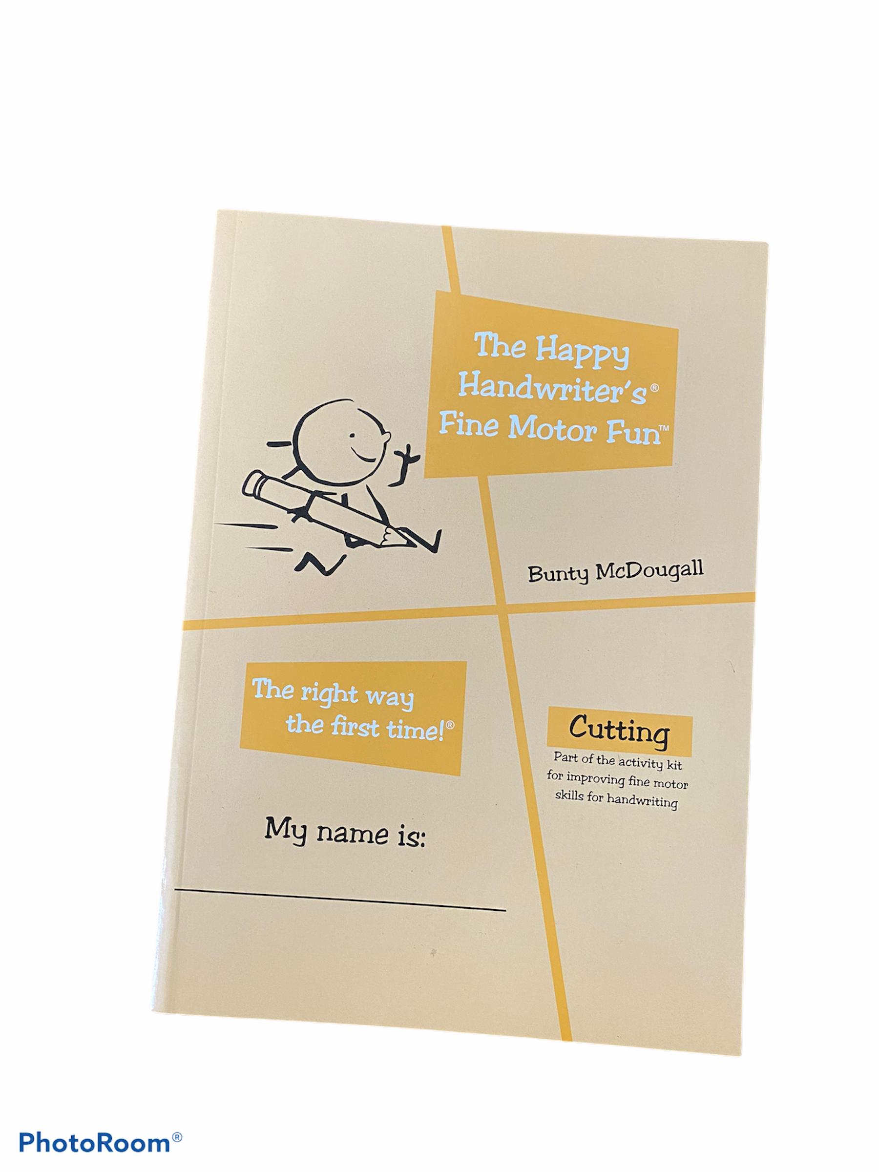A cutting book for children